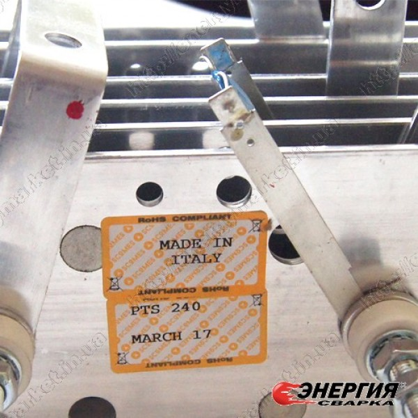 PТS - 240 Трехфазный диодный мостовой выпрямитель 240A SCOMES.