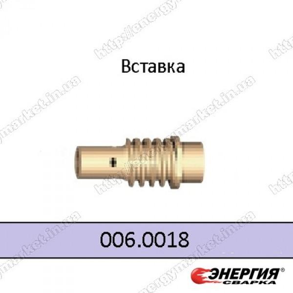 006.0018  Держатель газового сопла горелки МВ 14 L Abicor Binzel