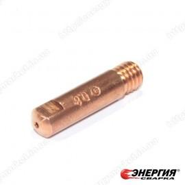 140.0059 Наконечник токопроводящий сварочный E-Cu - М6х0,8х25 Abicor Binzel