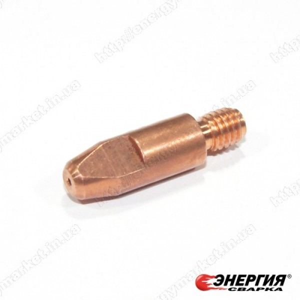 140.0242 Наконечник токопроводящий сварочный E-Cu - М6х1,0х28 Abicor Binzel