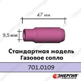 701.0109 Сопло керамическое 7 мм размер 6 SRT 17 / 18 / 26 Abicor Binzel