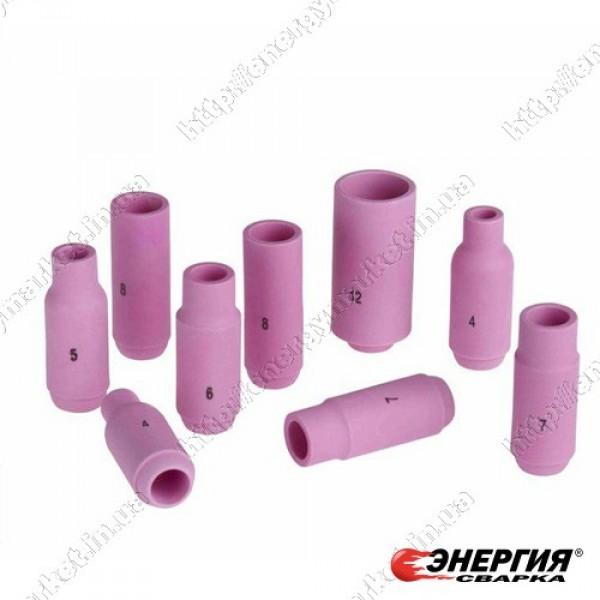 701.0291 Керамическое сопло № 6 (NW 9,5 мм / L 48,0 мм) ABITIG®GRIP/SRT 9, SRT 9V, ABITIG®/SRT 20 701.0291 Abicor Binzel