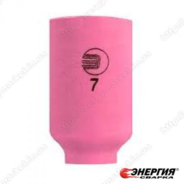 701.0423 Керамическое сопло № 7 (NW 11мм/L 42,0 мм)  Abicor Binzel