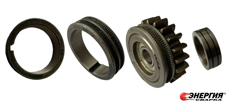 Роликами с V и U-образными канавками, с насечкой и без неё, под различный диаметр и состав сварочной проволоки фото 5